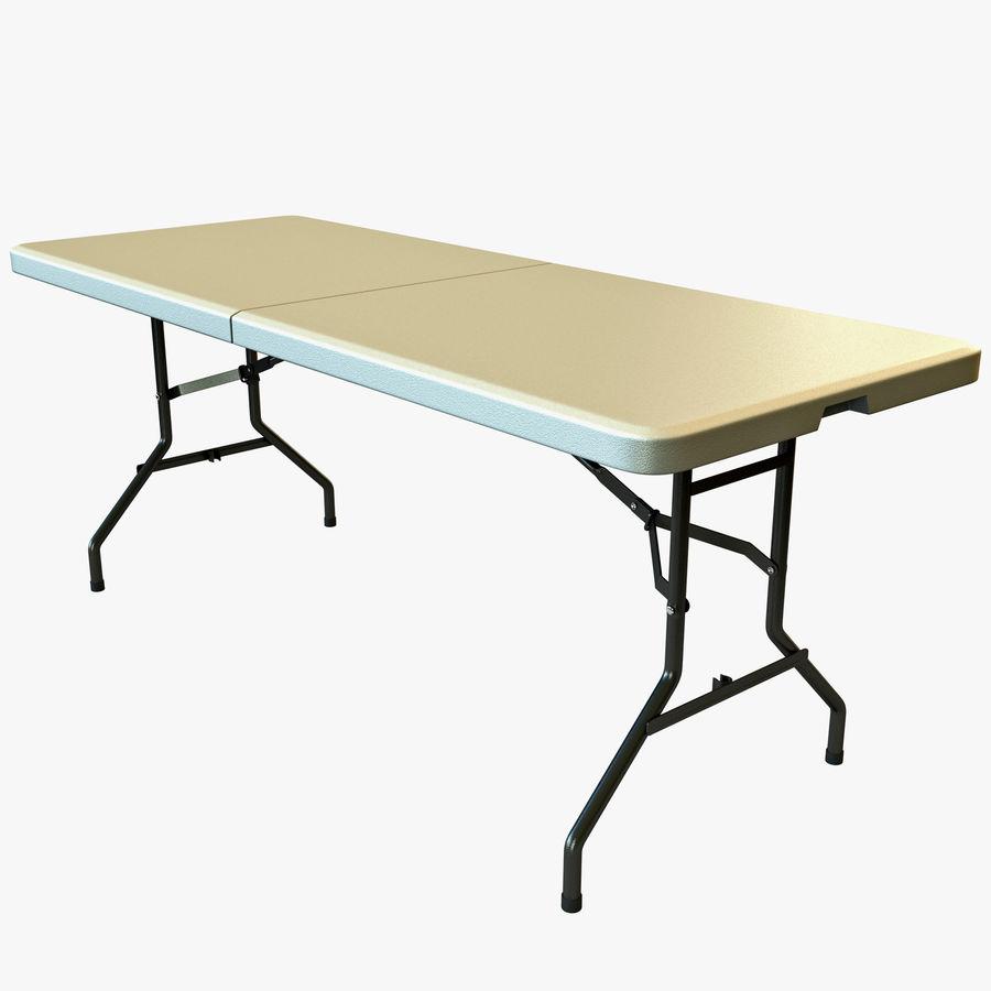 Środkowy stół składany royalty-free 3d model - Preview no. 1