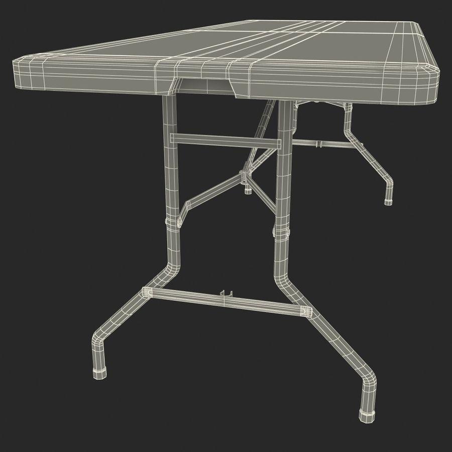 Środkowy stół składany royalty-free 3d model - Preview no. 14