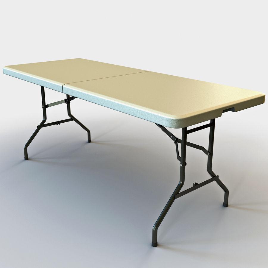 Środkowy stół składany royalty-free 3d model - Preview no. 2