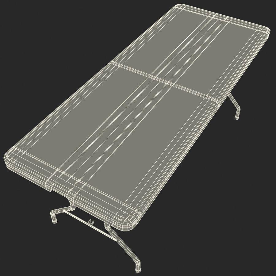 Środkowy stół składany royalty-free 3d model - Preview no. 12