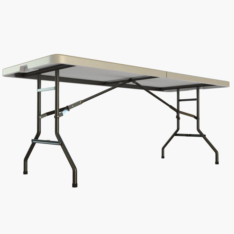 Środkowy stół składany royalty-free 3d model - Preview no. 5