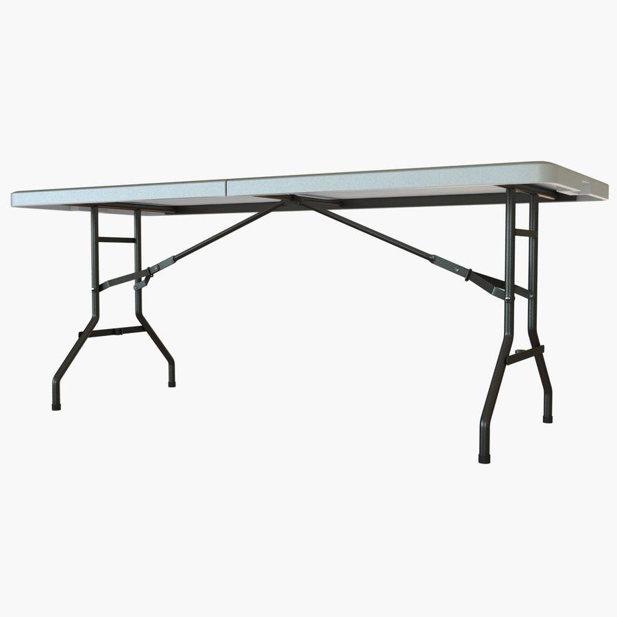 Środkowy stół składany royalty-free 3d model - Preview no. 3