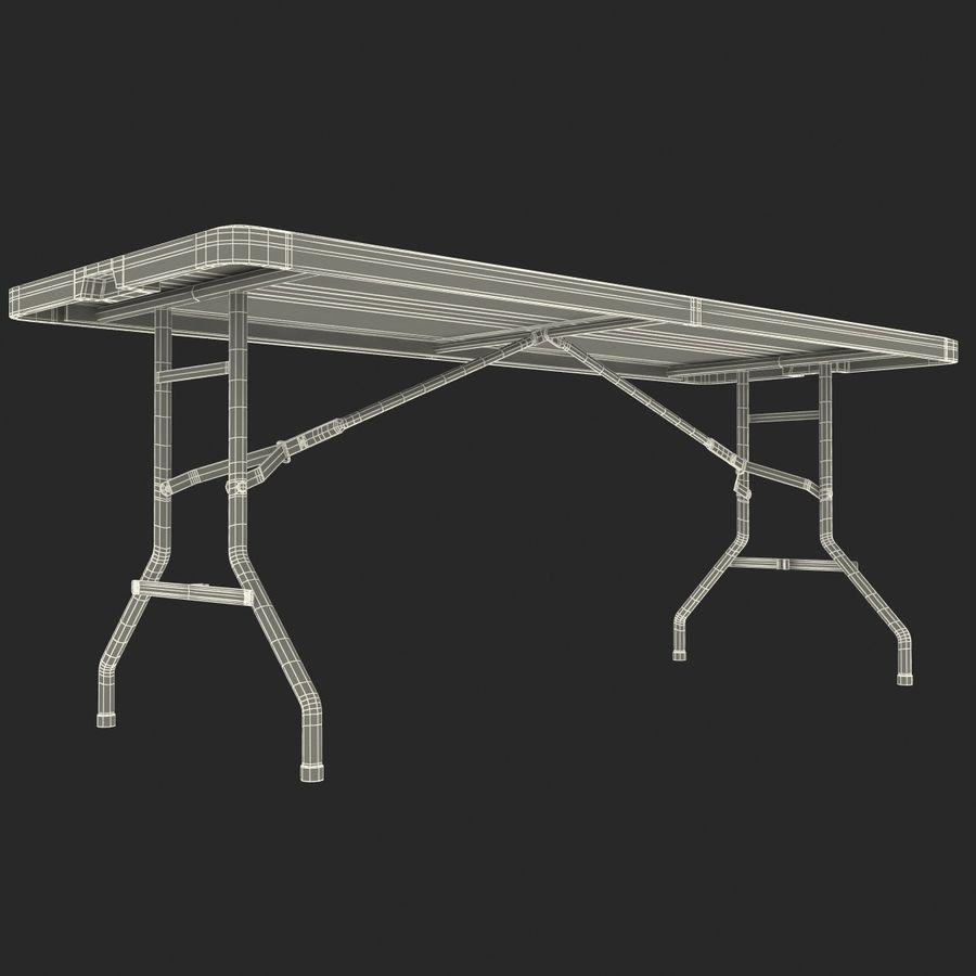 Środkowy stół składany royalty-free 3d model - Preview no. 11