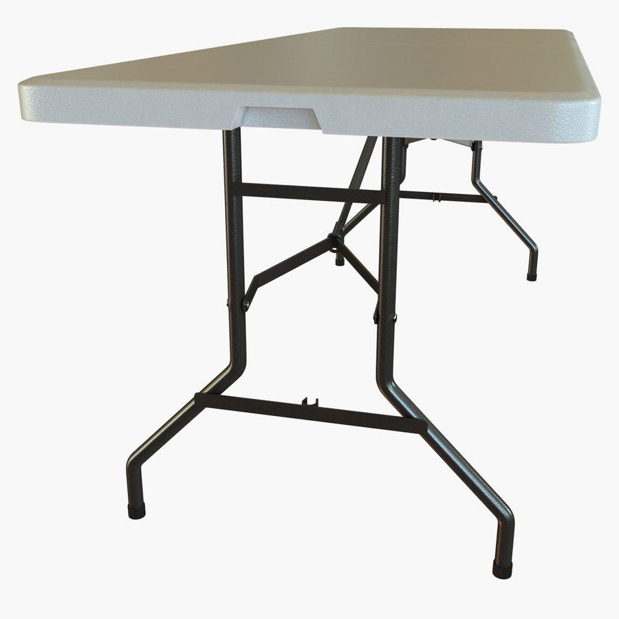 Środkowy stół składany royalty-free 3d model - Preview no. 8