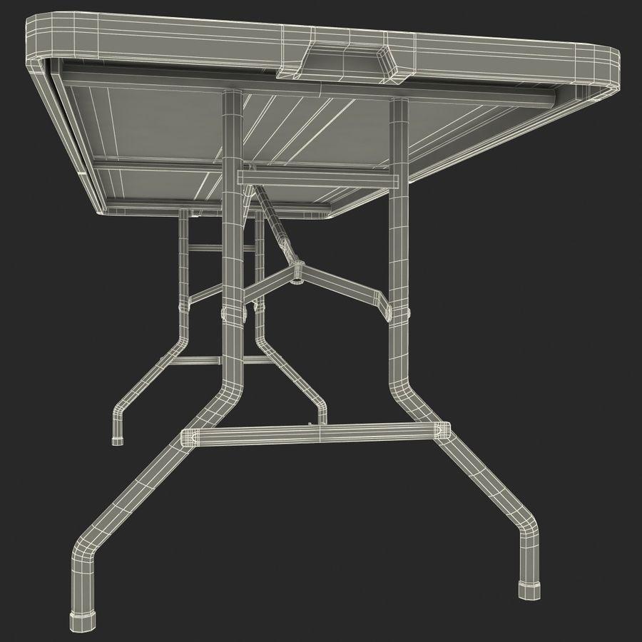Środkowy stół składany royalty-free 3d model - Preview no. 10