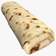 Burrito 3d model
