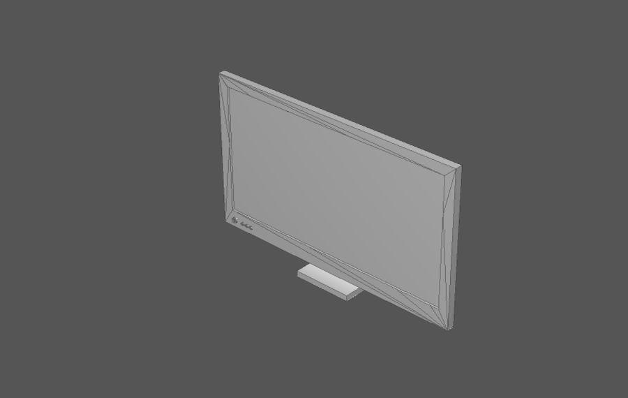 Комплект предметов интерьера дома (База) royalty-free 3d model - Preview no. 9