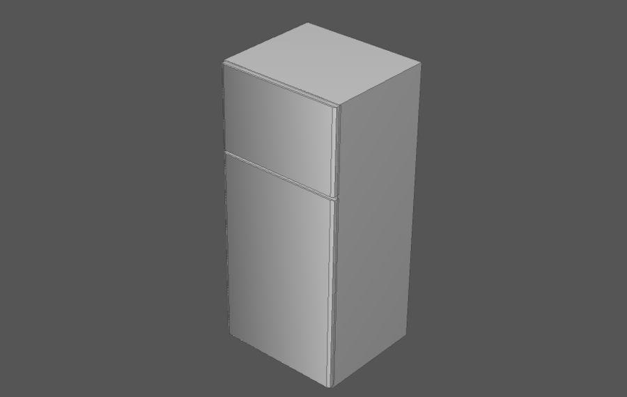 Комплект предметов интерьера дома (База) royalty-free 3d model - Preview no. 10