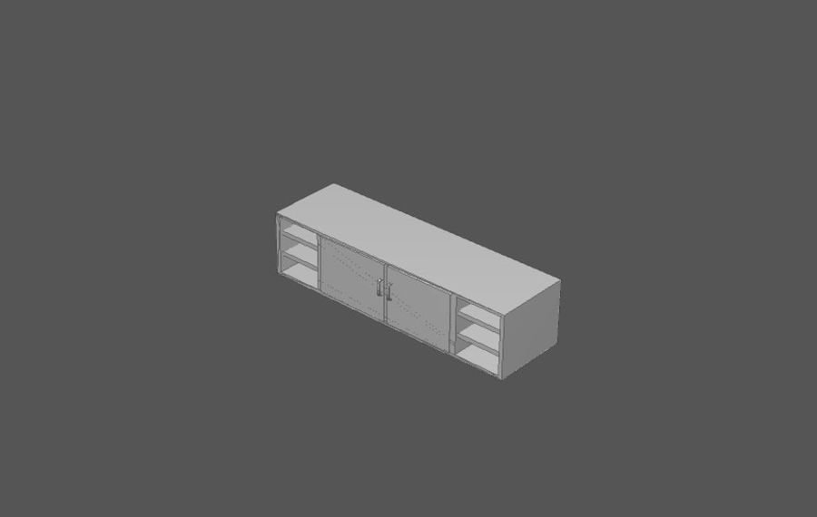 House interior items pack (Base) royalty-free 3d model - Preview no. 19