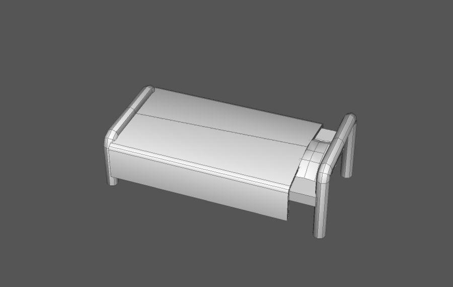 Комплект предметов интерьера дома (База) royalty-free 3d model - Preview no. 5