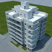 budynek 3d model