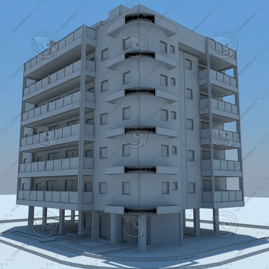 building royalty-free 3d model - Preview no. 20