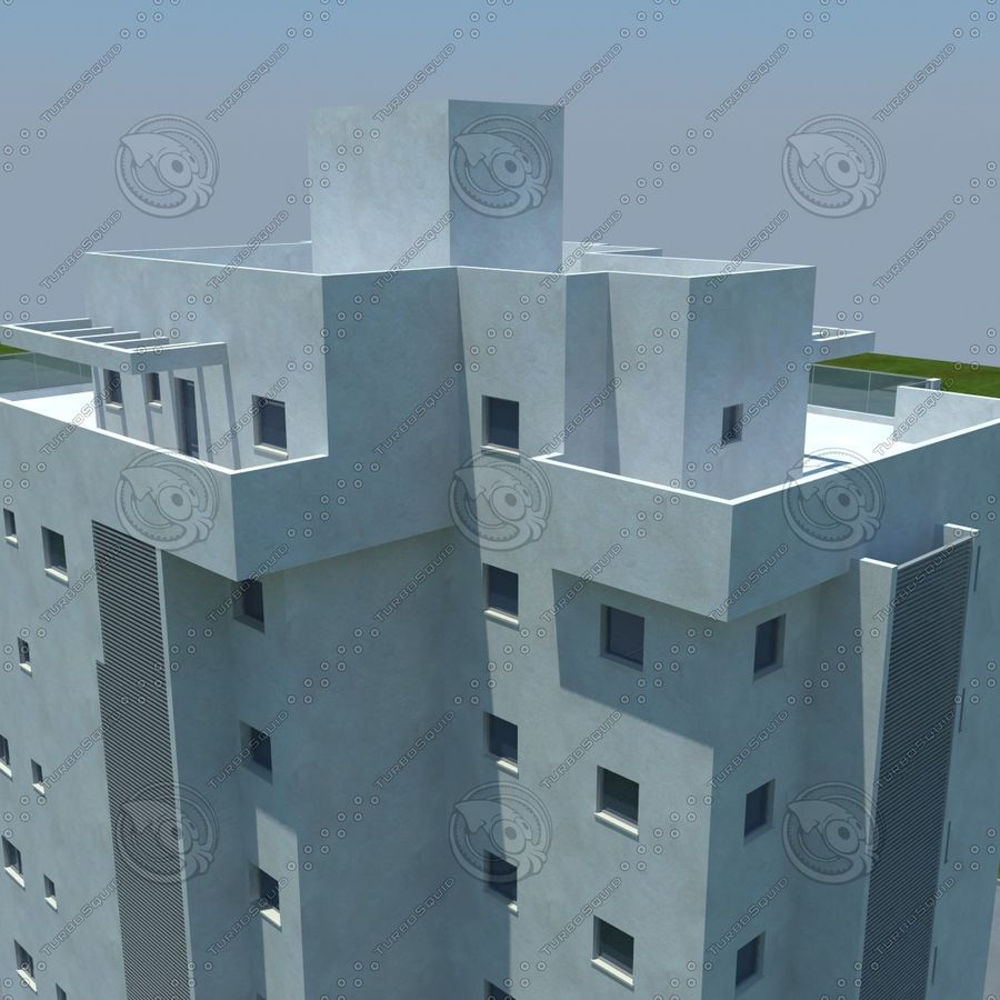 building royalty-free 3d model - Preview no. 14