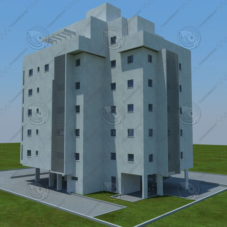 building royalty-free 3d model - Preview no. 13