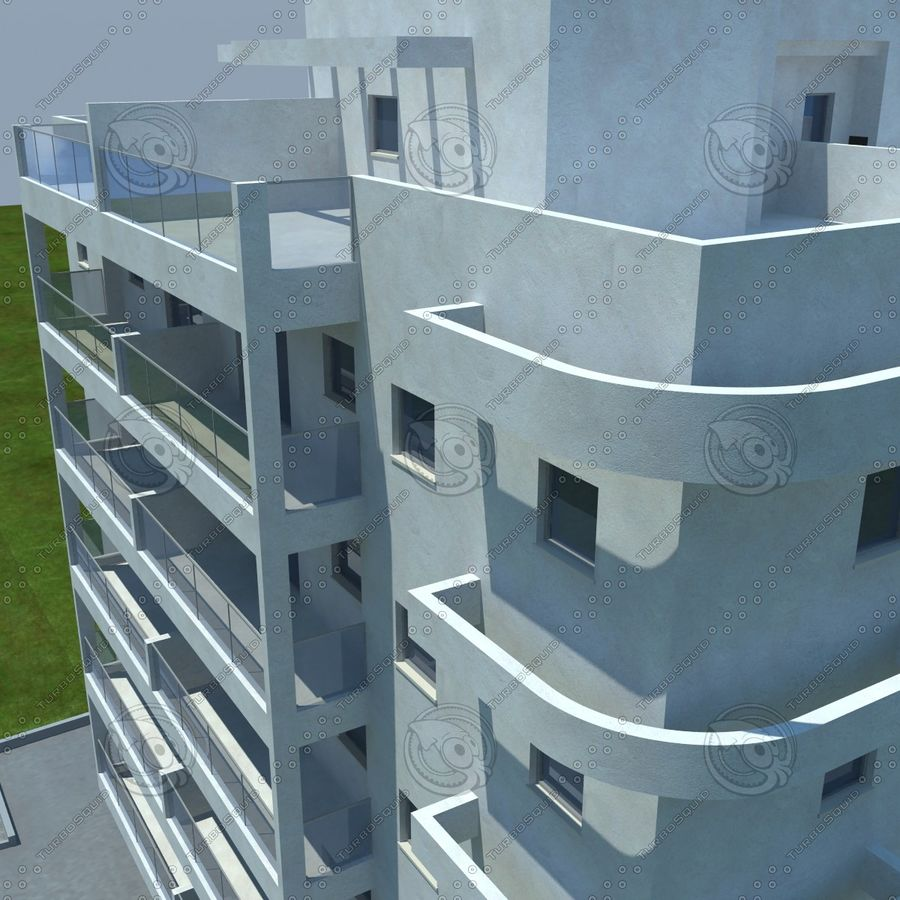 building royalty-free 3d model - Preview no. 4