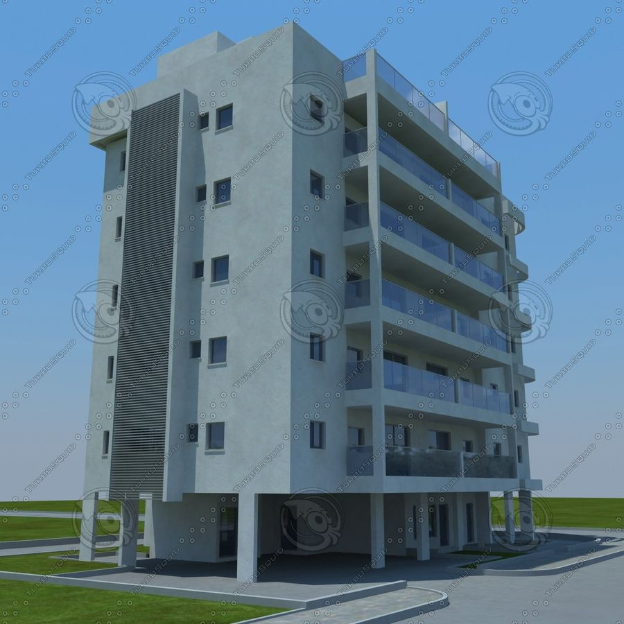 building royalty-free 3d model - Preview no. 17