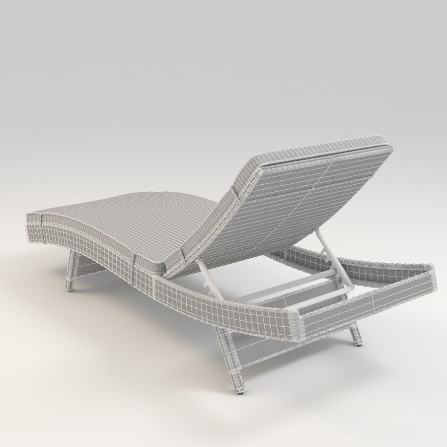 Lakeport Outdoor Adjustable Chaise Lounge Chair With