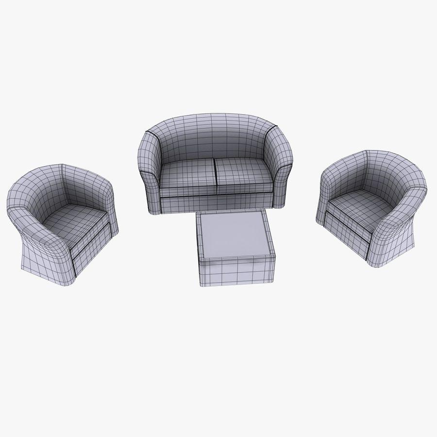 salon royalty-free 3d model - Preview no. 6