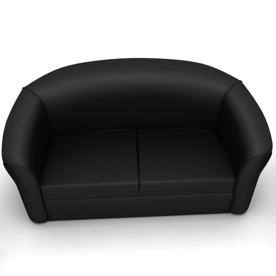 living room royalty-free 3d model - Preview no. 3