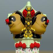 3D model column 3d model