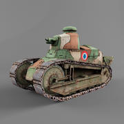 雷诺FT 3d model