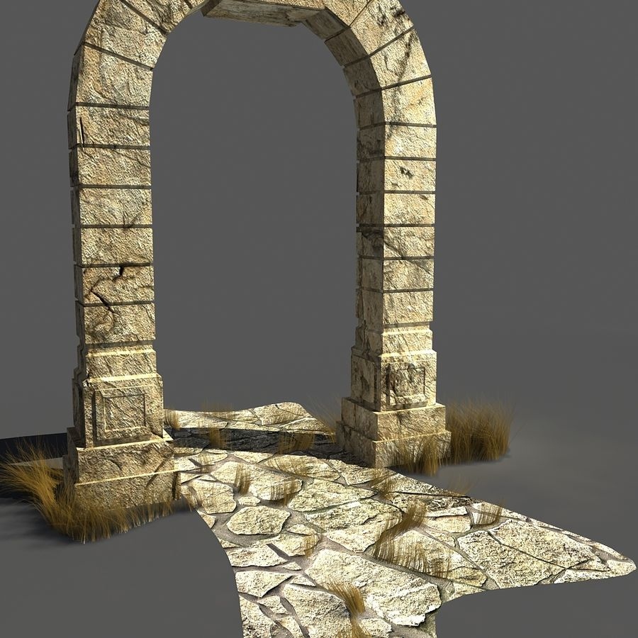 portal_max royalty-free 3d model - Preview no. 1