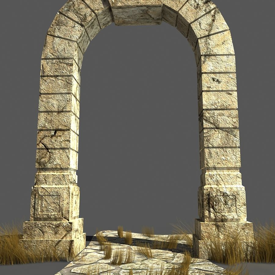 portal_max royalty-free 3d model - Preview no. 5