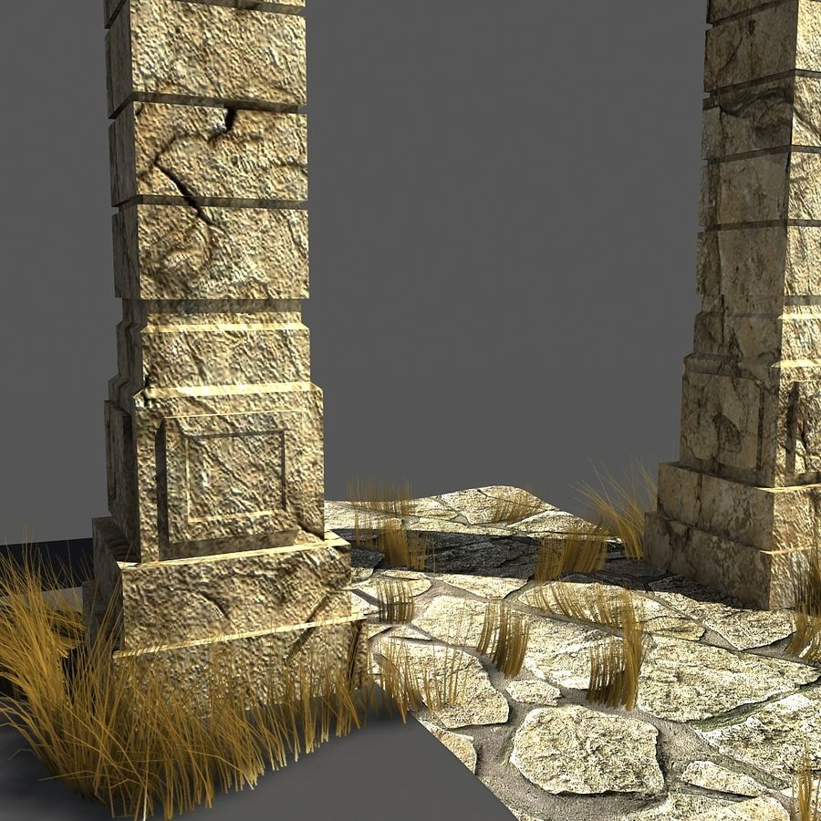 portal_max royalty-free 3d model - Preview no. 2