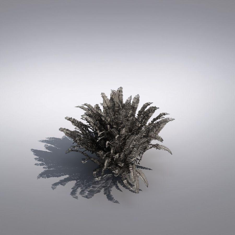 Bush Plant royalty-free 3d model - Preview no. 5
