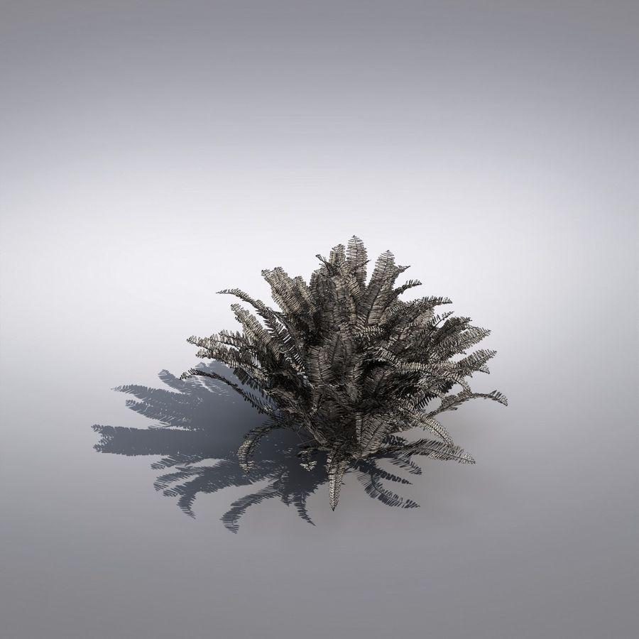 Bush Plant royalty-free 3d model - Preview no. 7