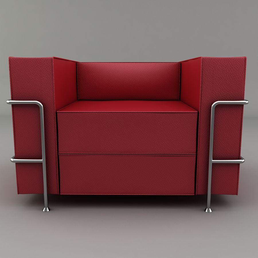 Koltuk sandalye royalty-free 3d model - Preview no. 6