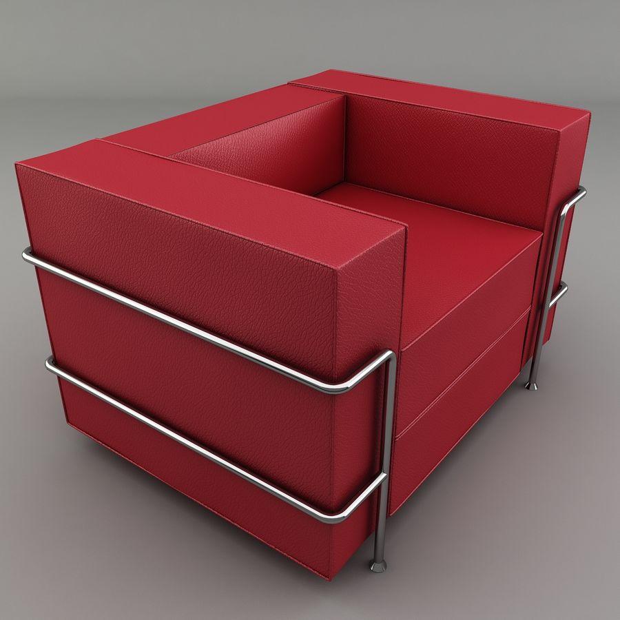 Koltuk sandalye royalty-free 3d model - Preview no. 1