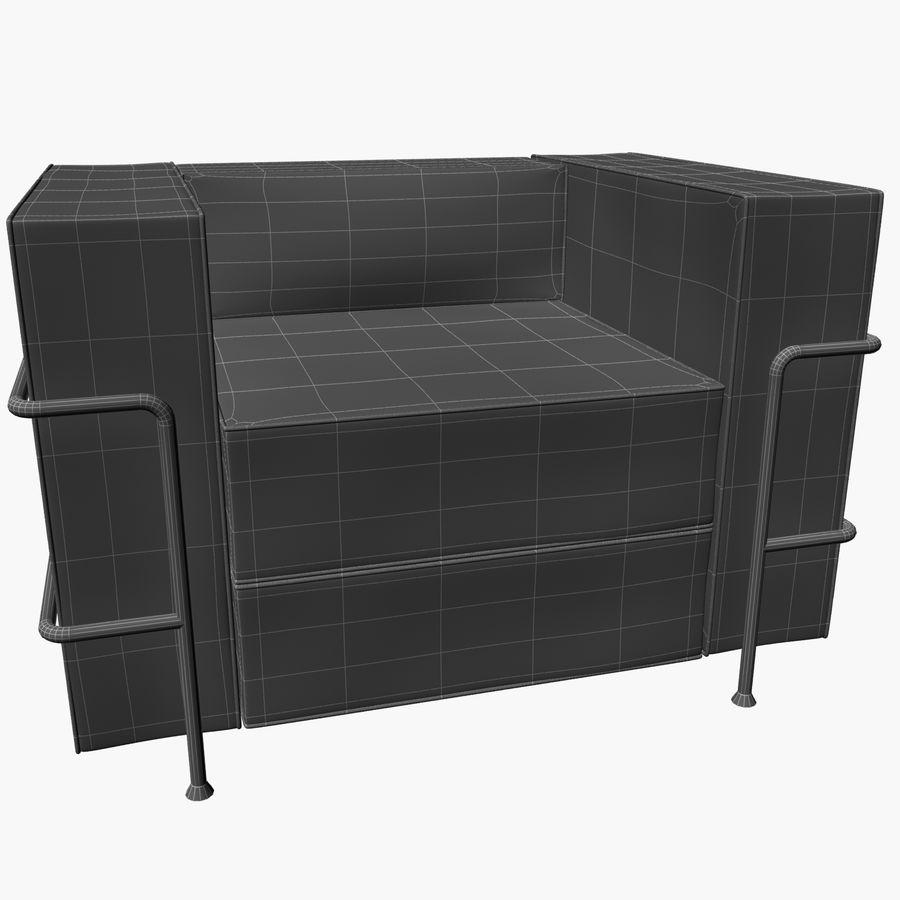 Koltuk sandalye royalty-free 3d model - Preview no. 7