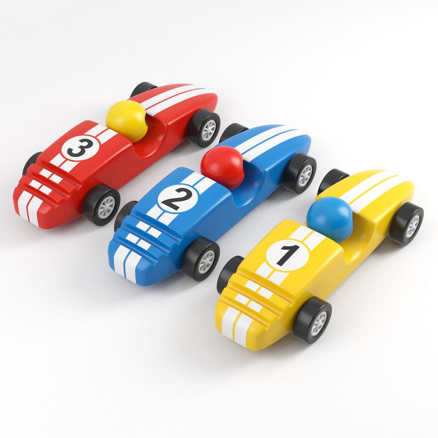 Carros de corrida royalty-free 3d model - Preview no. 2