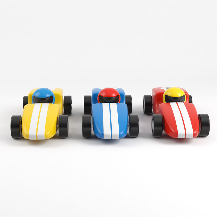 Carros de corrida royalty-free 3d model - Preview no. 4