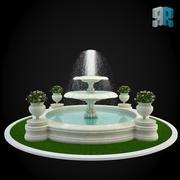 喷泉021 3d model