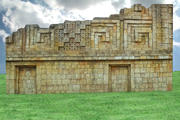 AZTEC TEMPLE WALL 3d model