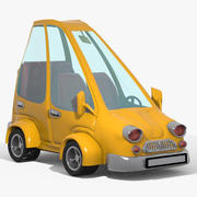 cartoon car 1 3d model