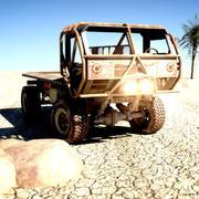 강도 트럭 3d model