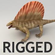 エダフォサウルスリグ 3d model