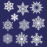 10雪の結晶 3d model