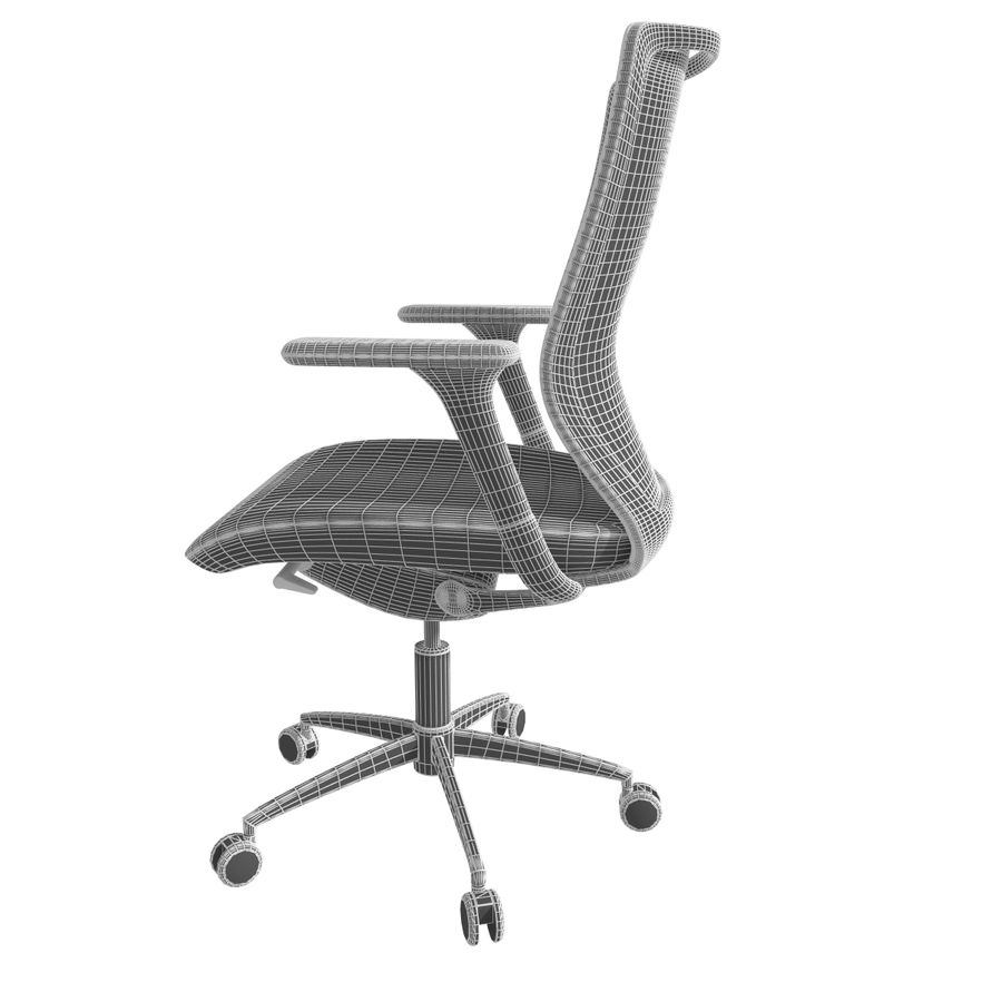 Chair Office royalty-free 3d model - Preview no. 12