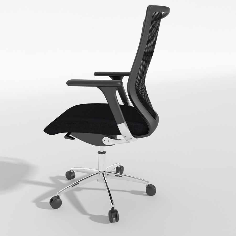 Chair Office royalty-free 3d model - Preview no. 11