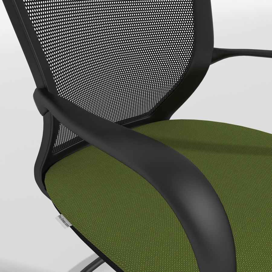 Chair Office royalty-free 3d model - Preview no. 15