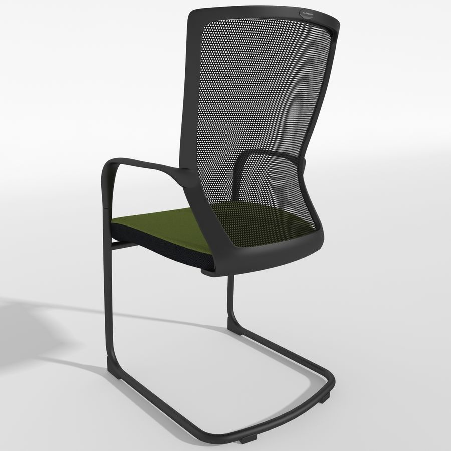 Chair Office royalty-free 3d model - Preview no. 4