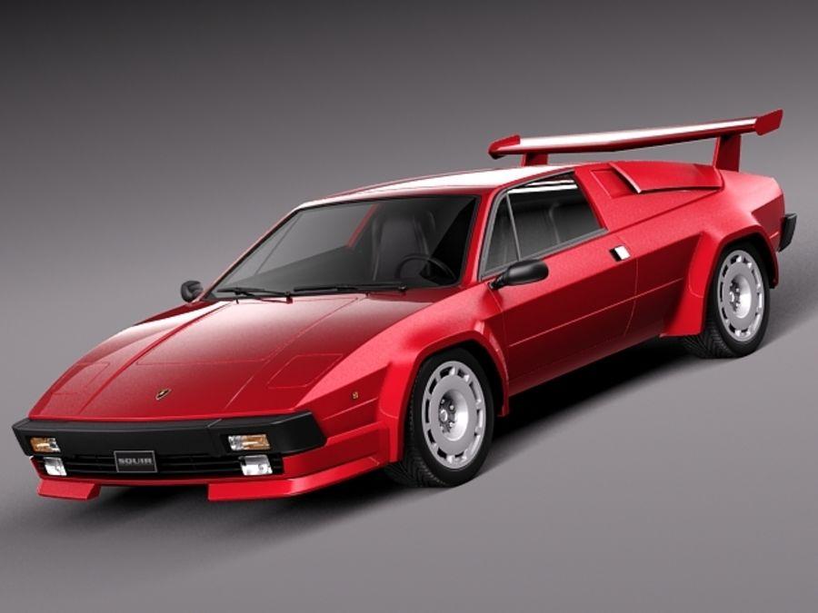 Lamborghini Jalpa 1981 1988 3d Model 129 Obj Max Lwo Fbx C4d 3ds Free3d