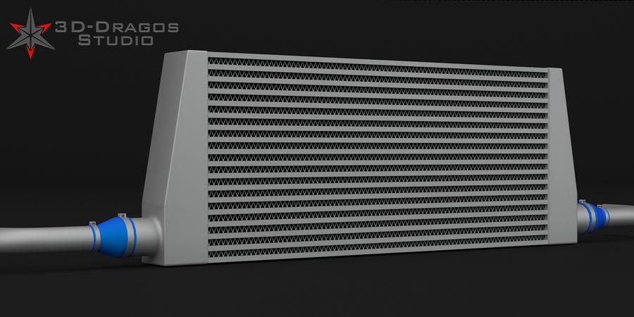 Car-Intercooler royalty-free 3d model - Preview no. 1