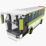 Jeu de bus Lego 8404 3d model