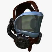 Helmet Pilot 3d model