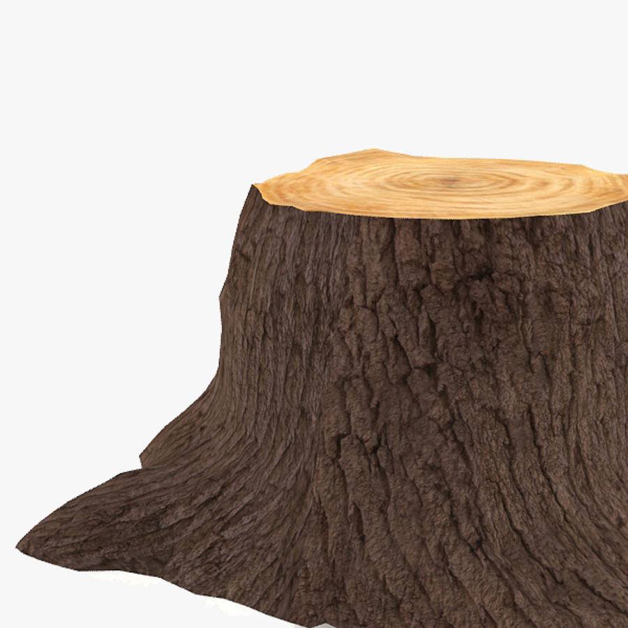 Tree Trunk royalty-free 3d model - Preview no. 3